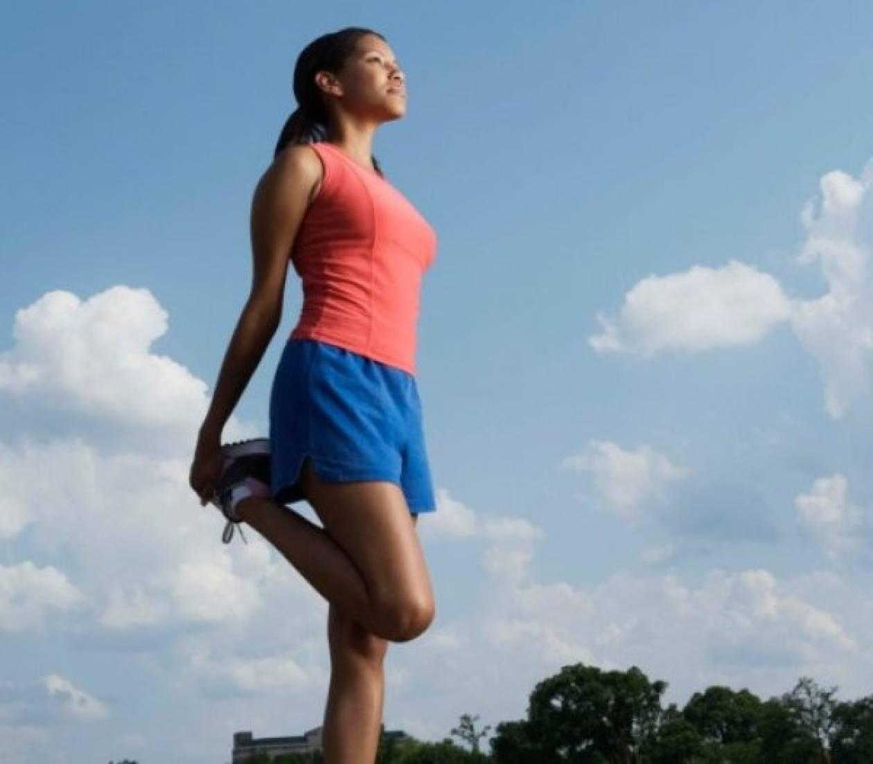 Οι διατάσεις πριν και μετά την άσκηση είναι εξίσου σημαντικές