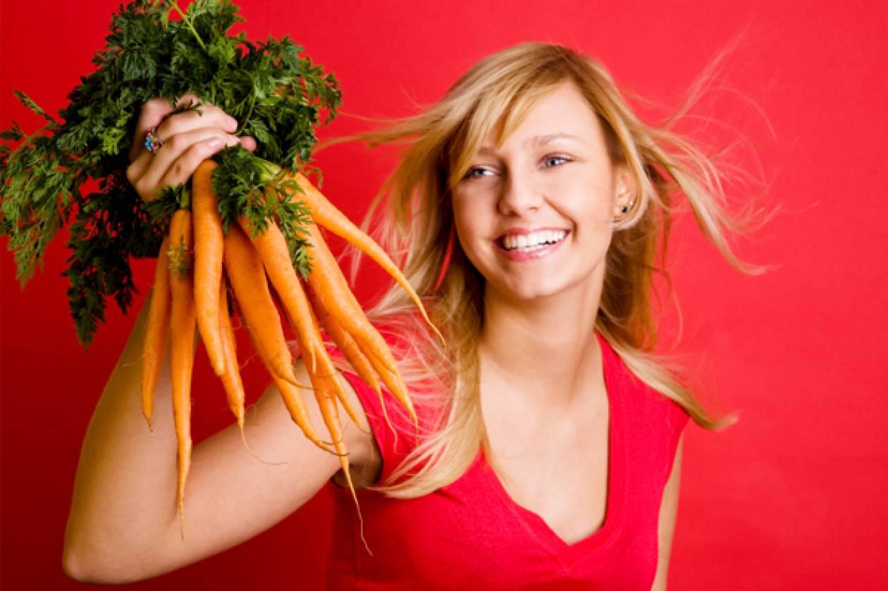 Όμορφες με καρότα και δαμάσκηνα