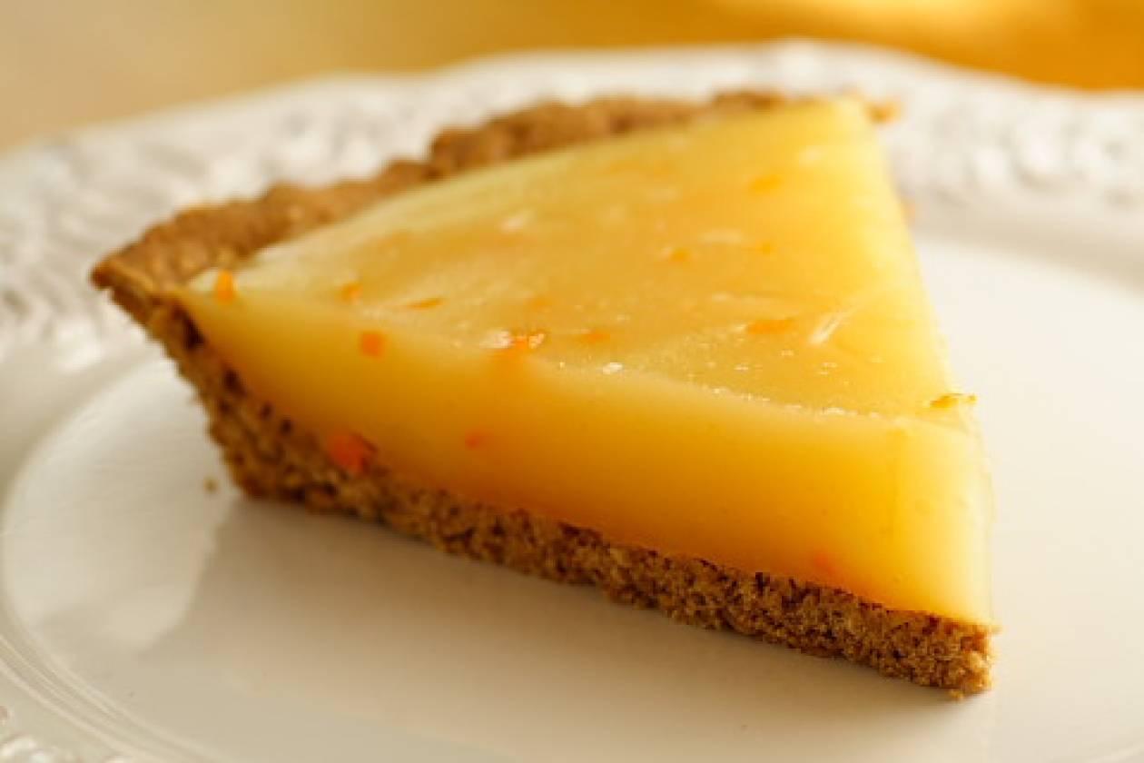 Απλή κλασσική lemon pie