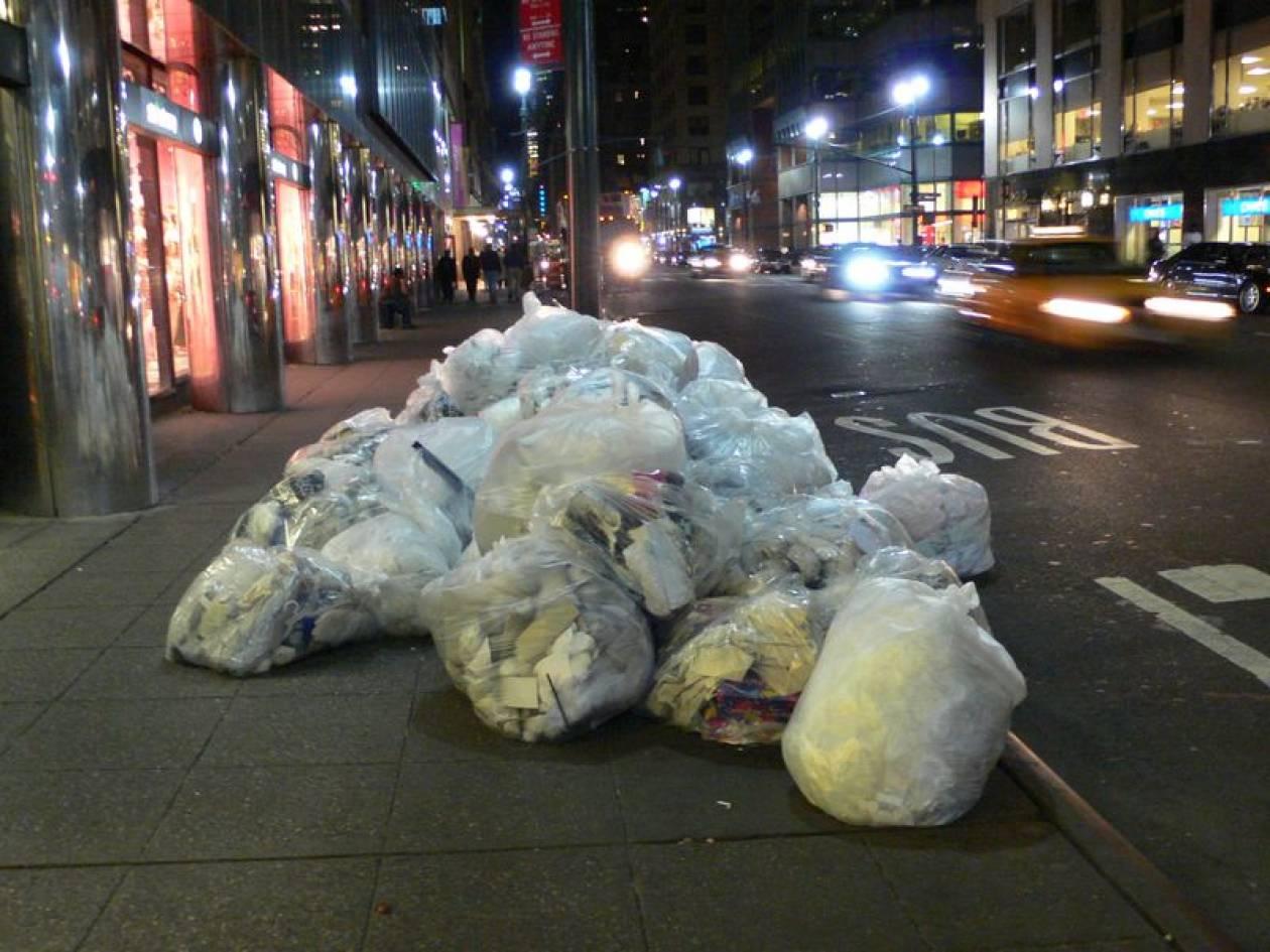 Νέα Υόρκη: Παραγωγή ενέργειας από σκουπίδια