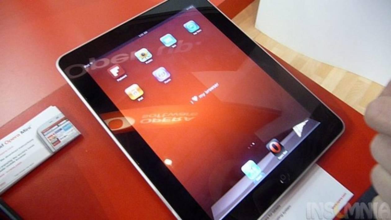 Opera για iPad