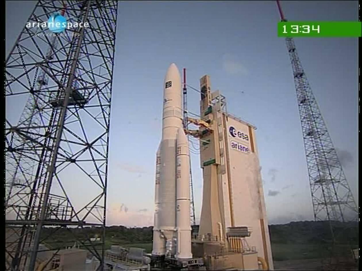 Ξεκίνησε το ταξίδι του ο Αριάν για τον Διεθνή Διαστημικό Σταθμό