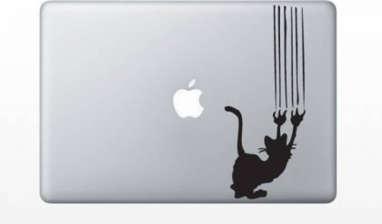 Macbook αυτοκόλλητα για κάθε γούστο και διάθεση