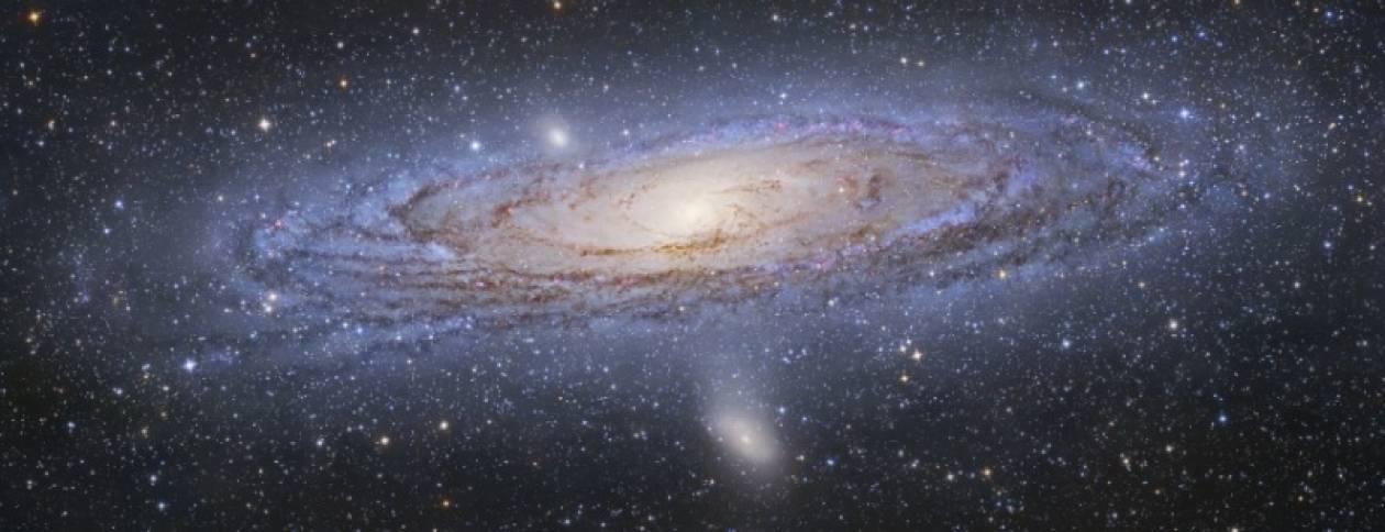 Η Ανδρομέδα αποκαλύπτει τον Γαλαξία μας