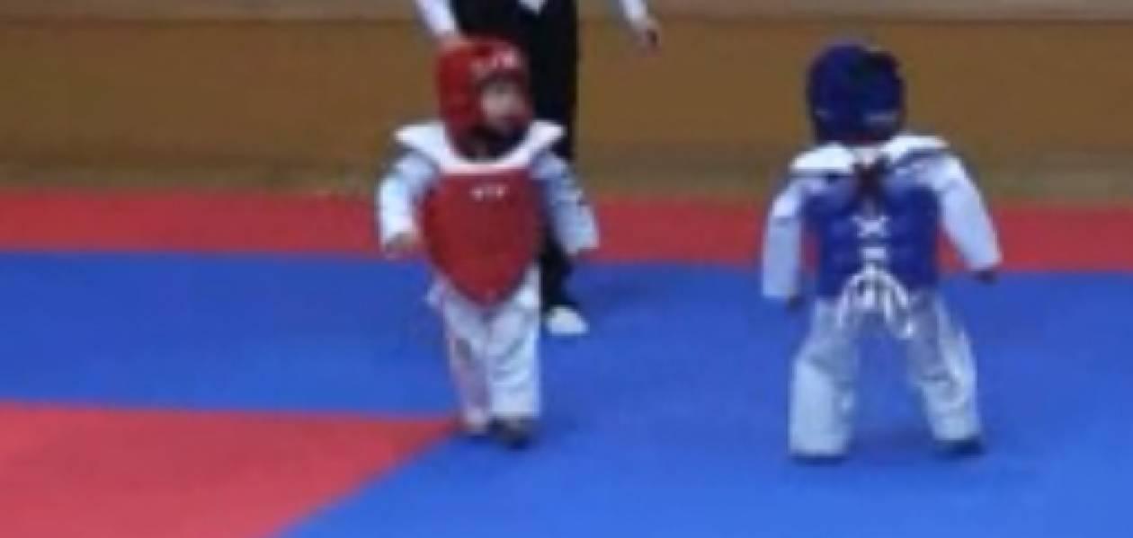 Ο πιο γλυκός… αγώνας Taekwondo