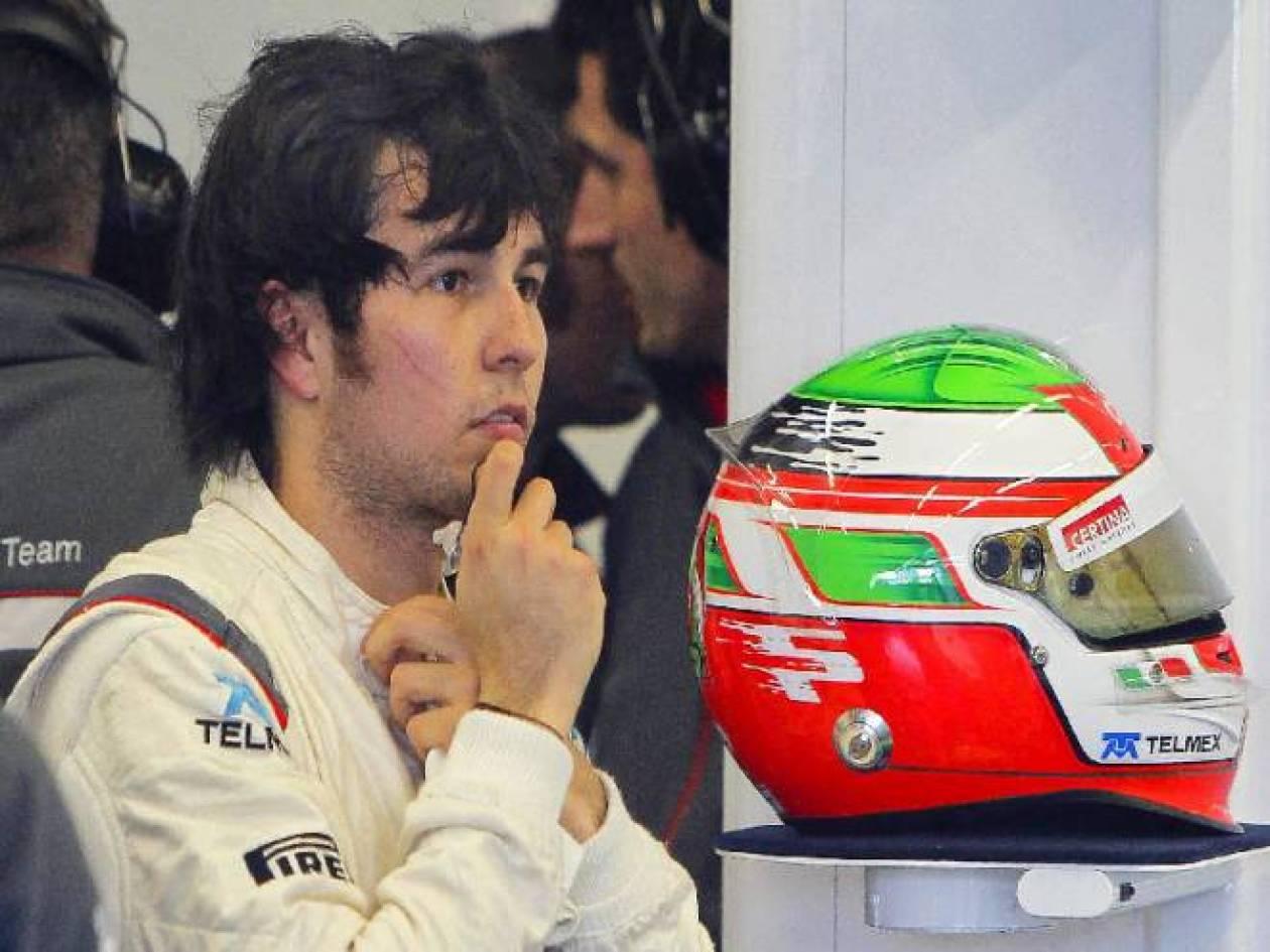 Τη Formula 1διαφημίζει στο Μεξικό ο Πέρεζ