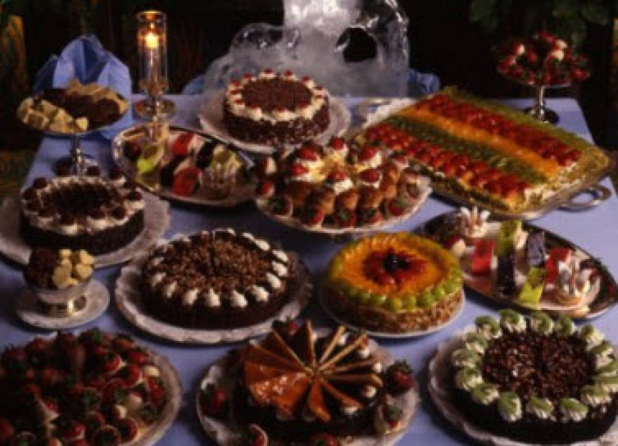Μια τούρτα μπουφές για τον γάμο σας