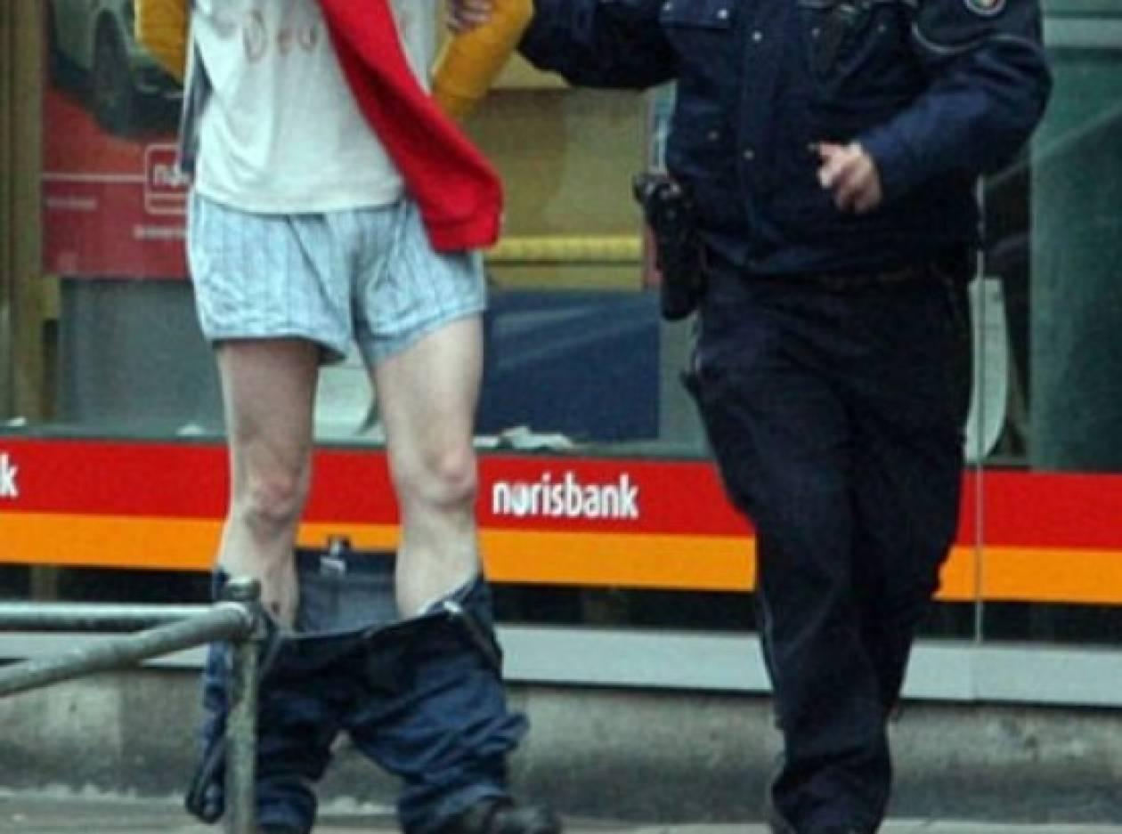 Κλέφτης μηνύει την αστυνομία!