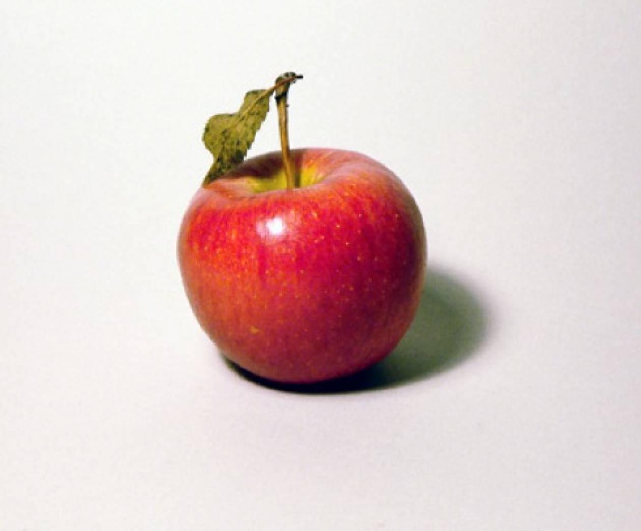 Πίλινγκ με μήλο και λάδι