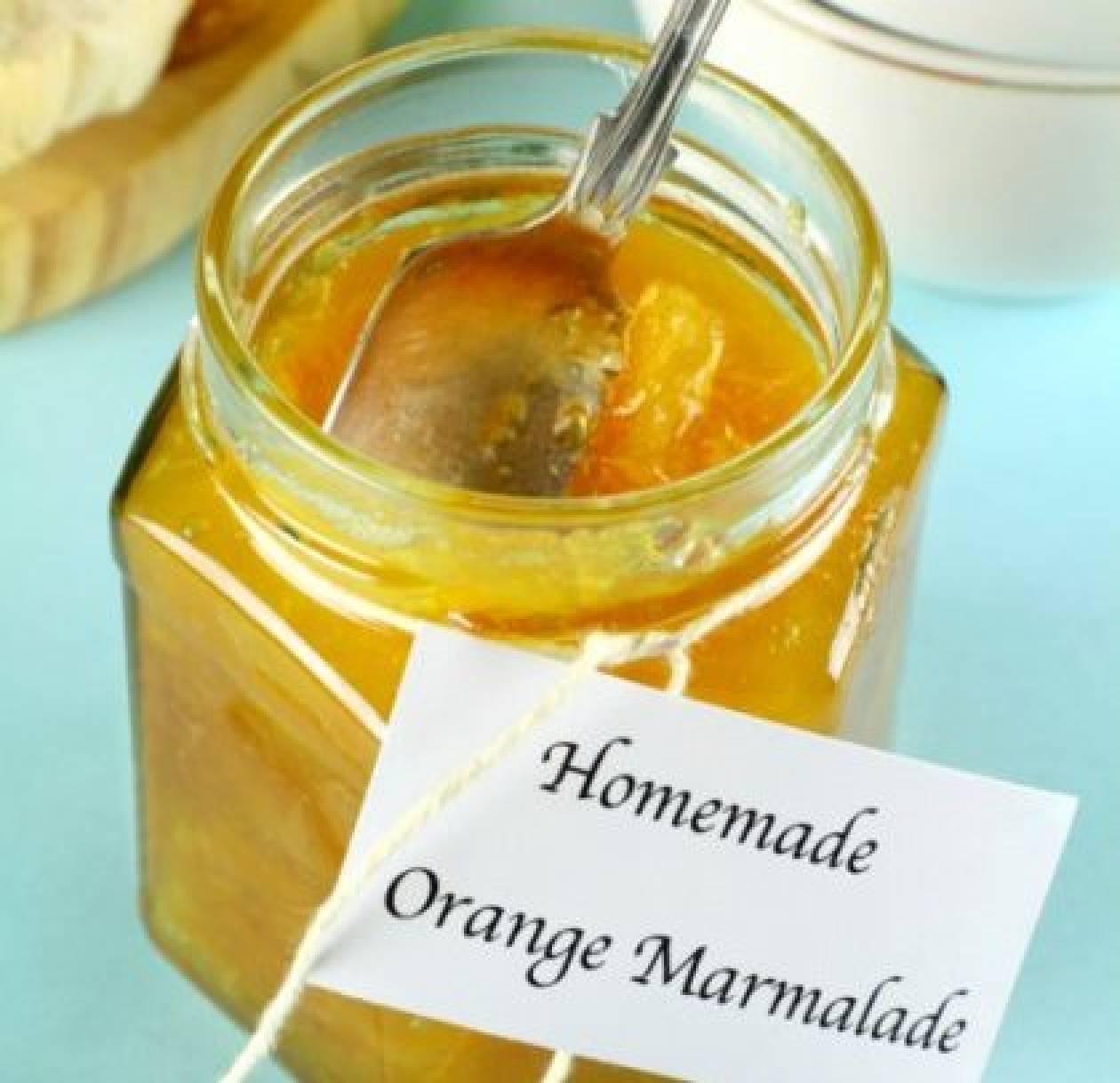 Σπιτική και υγιεινή μαρμελάδα πορτοκάλι!