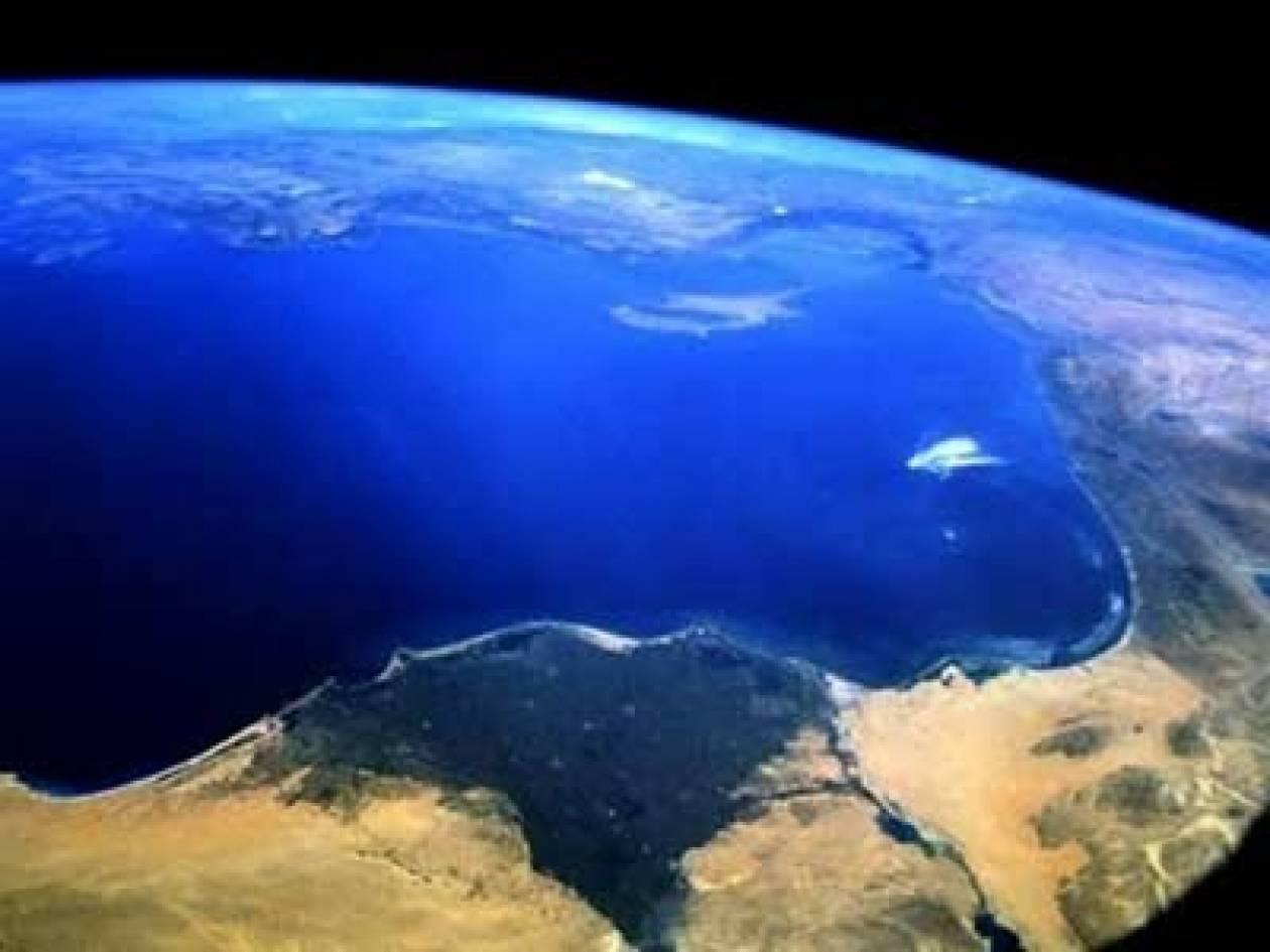 Ανησυχία από την άνοδο της στάθμης της Μεσογείου