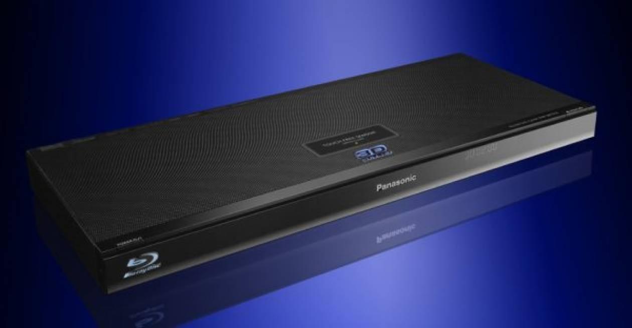 Τηλεόραση  Panasonic με τεχνολογία blu-ray