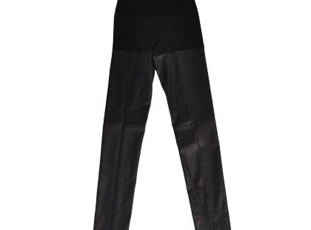 Τα μαύρα τα δερμάτινα τα παντελόνια σας
