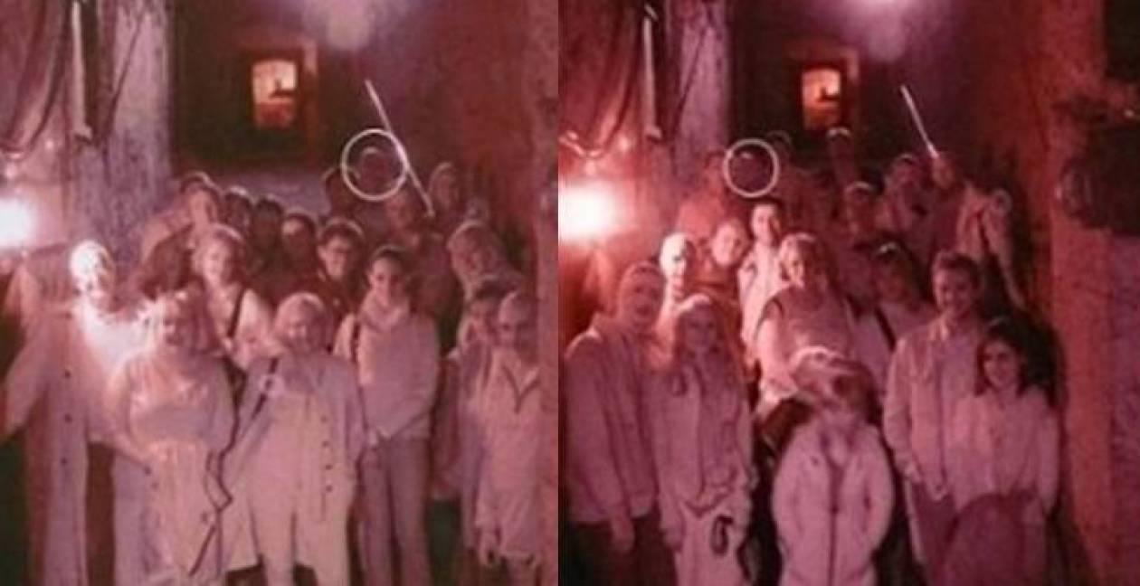 """Η ίδια περίεργη """"οντότητα"""" σε δύο διαφορετικές φωτογραφίες;"""