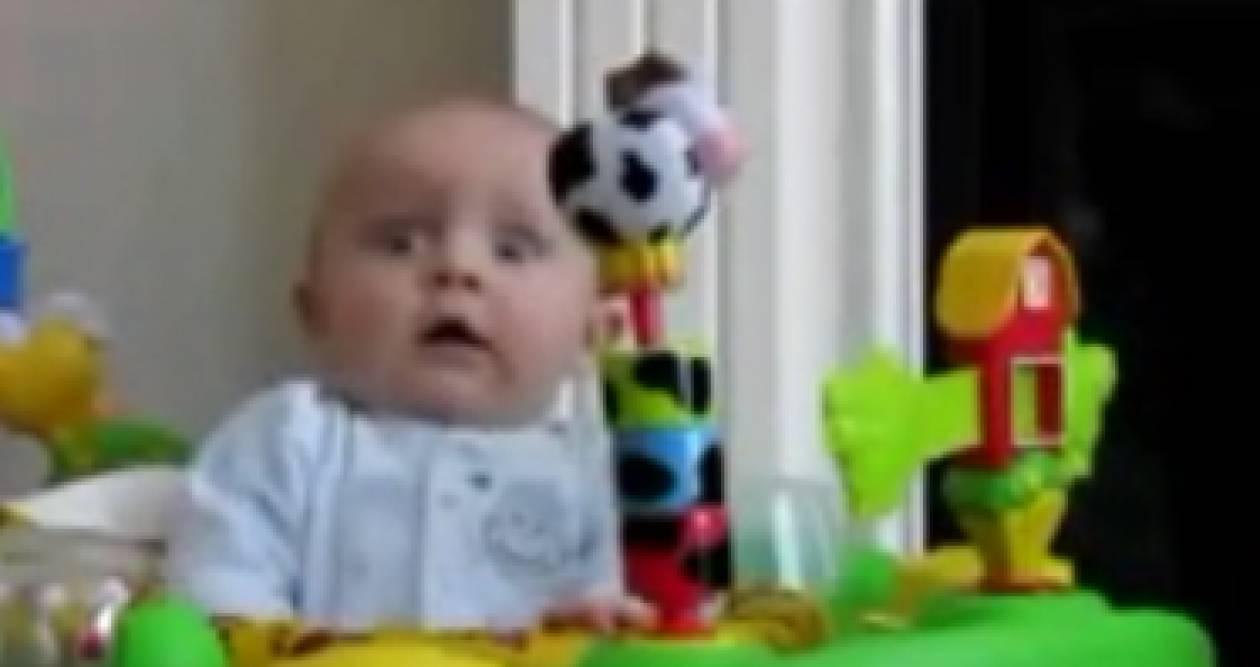 Ένα μωρό και… μία τρομάρα