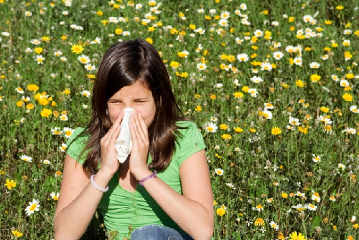 Ήρθε η Άνοιξη, ήρθε κι η αλλεργία