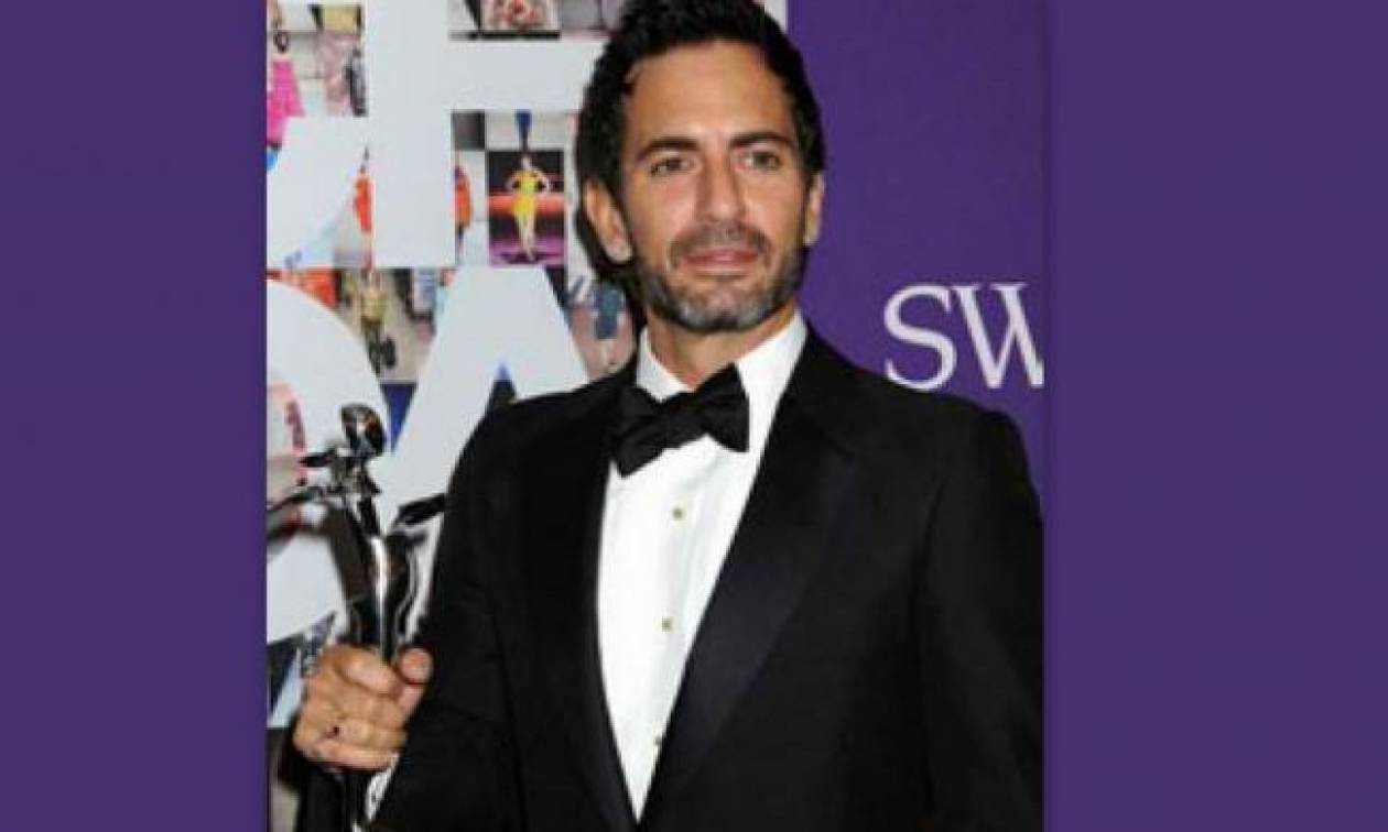 O Marc Jacobs βραβεύεται