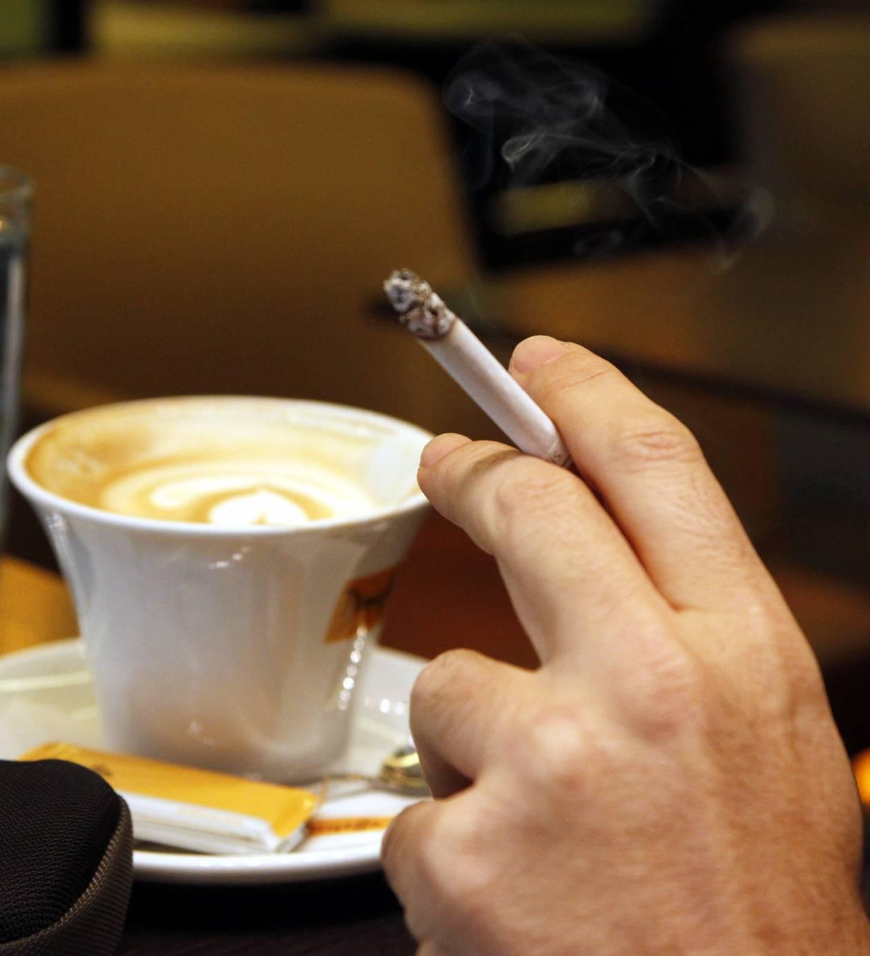 Διάλειμμα για ένα τσιγάρο…