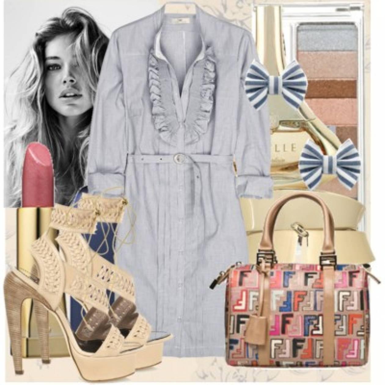 Μάθημα μόδας: Σεμιζιέ φόρεμα
