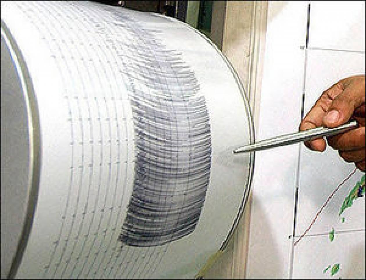 Σεισμός 4,0 Ρίχτερ στην Σπάρτη