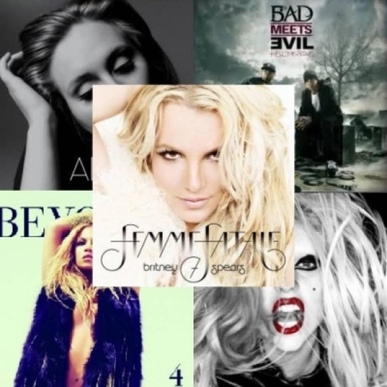 Britney Spears: Το καλύτερο album για το 2011