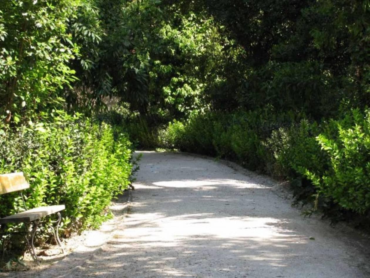 """""""Πράσινο φως"""" για την αναβάθμιση του Εθνικού Κήπου"""