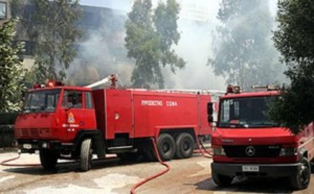 Κοντά σε εξοχικές κατοικίες η φωτιά στο Αλεποχώρι