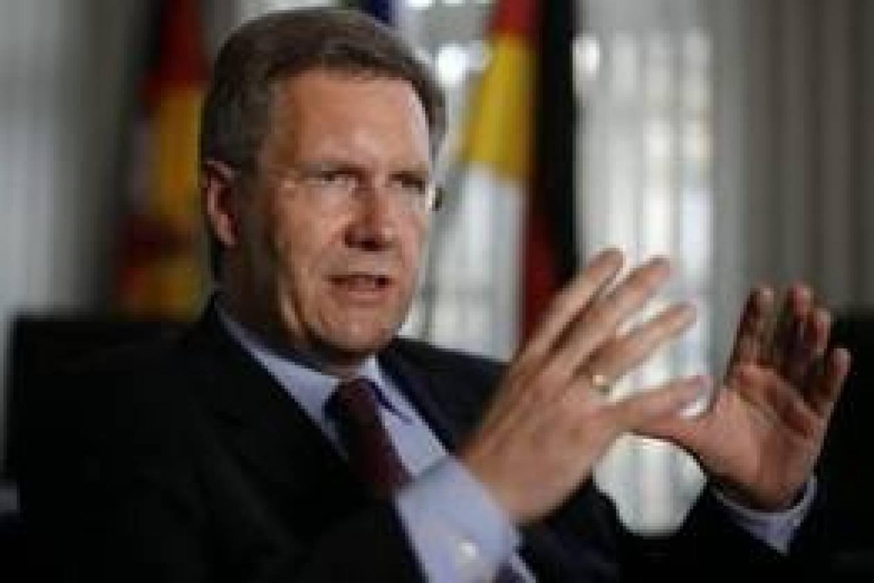 Στην ελληνική Βουλή, ο Γερμανός πρόεδρος