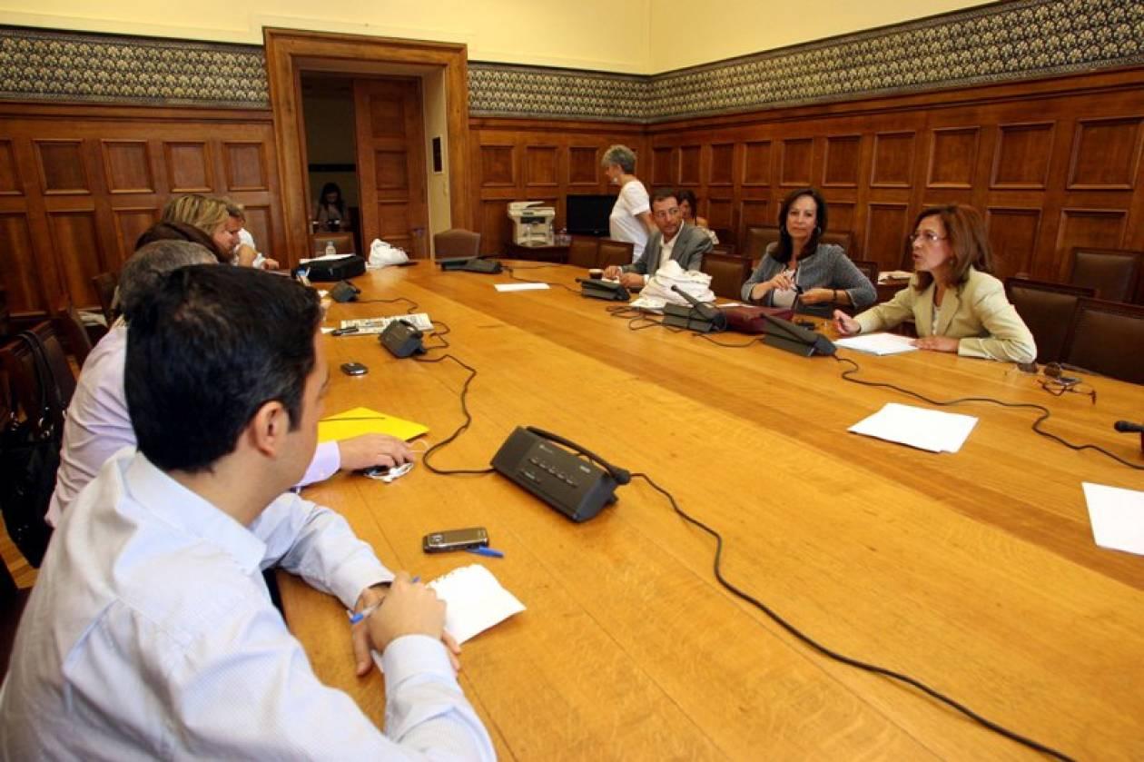 Εσωκομματικές ενστάσεις για το νόμο πλαίσιο