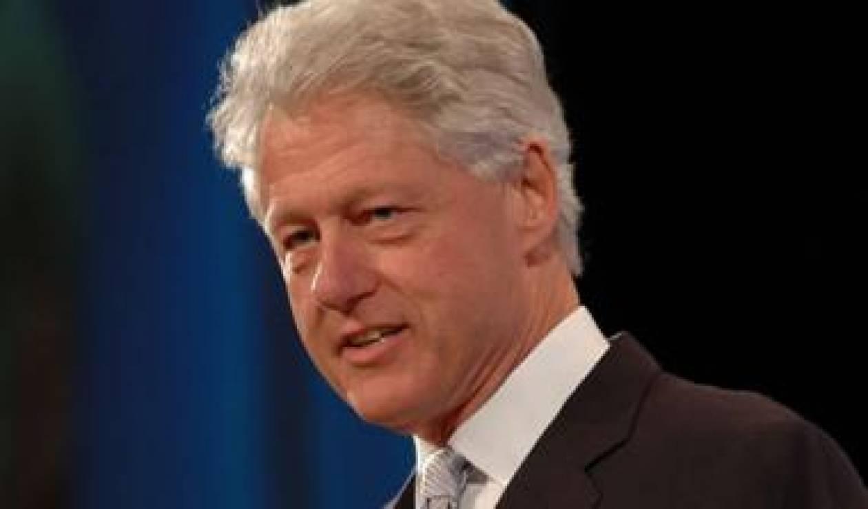 Υποστηρικτής της Ελλάδας και ο Μπιλ Κλίντον