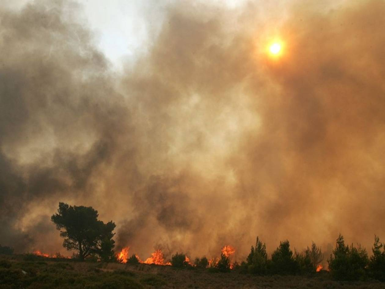 Υψηλός κίνδυνος για πυρκαγιές αύριο
