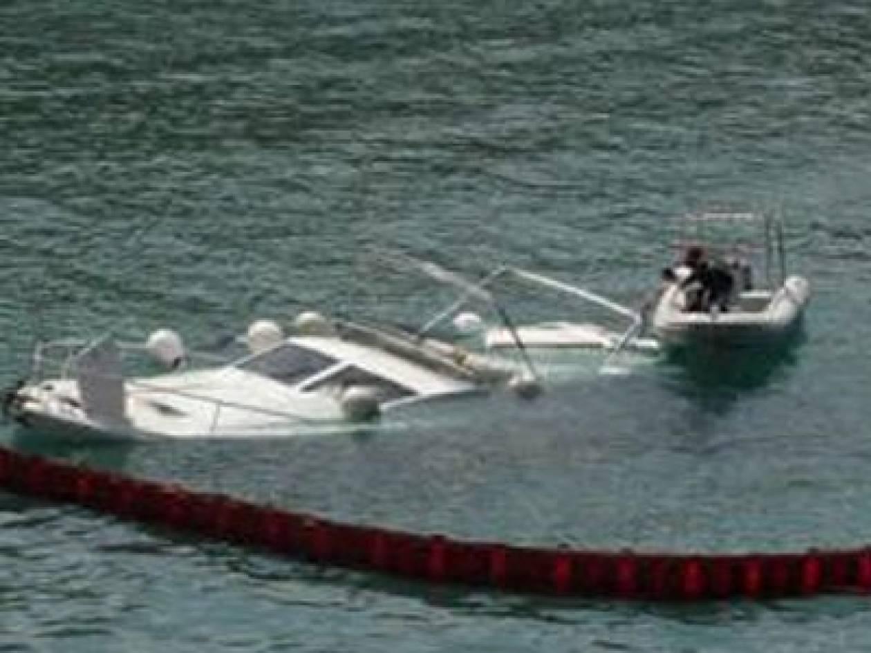Βυθίστηκε σκάφος στο λιμάνι της Καλύμνου