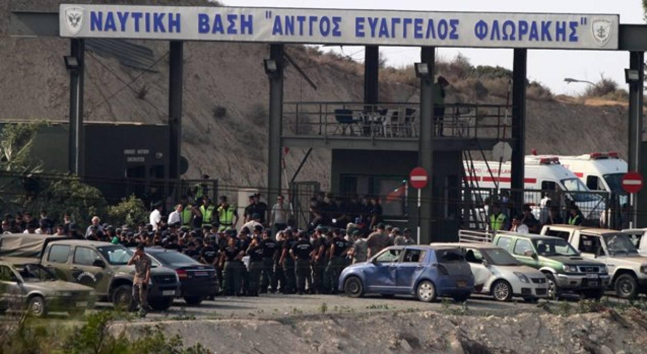 Μακελειό σε ναυτική βάση της Κύπρου