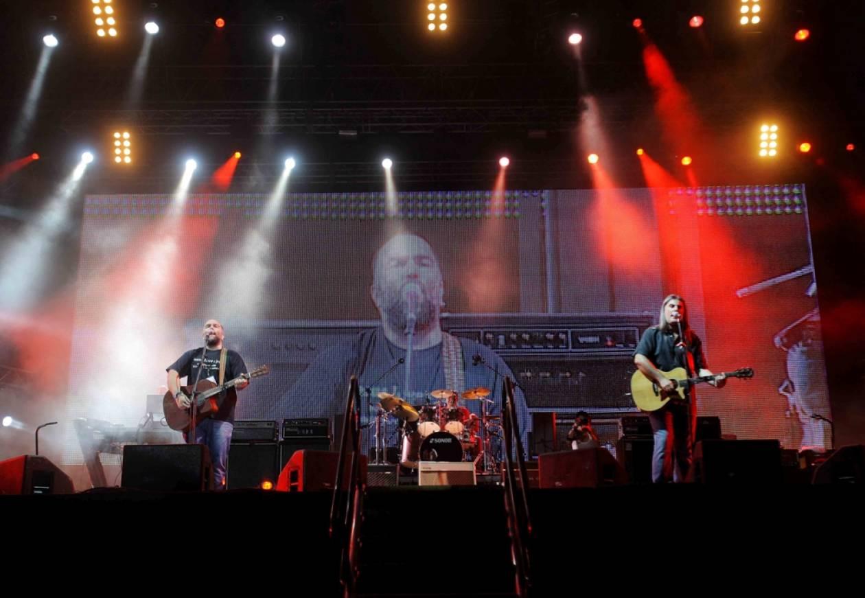 Συγκίνηση και προβλήματα στη συναυλία των «Πυξ Λαξ»