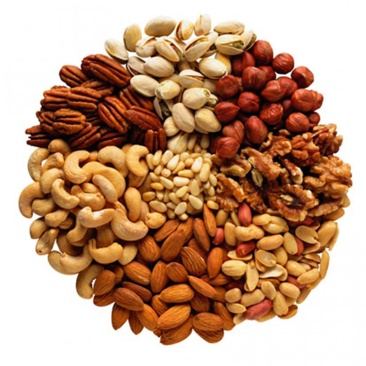 Οι ξηροί καρποί «φάρμακο» για τους διαβητικούς