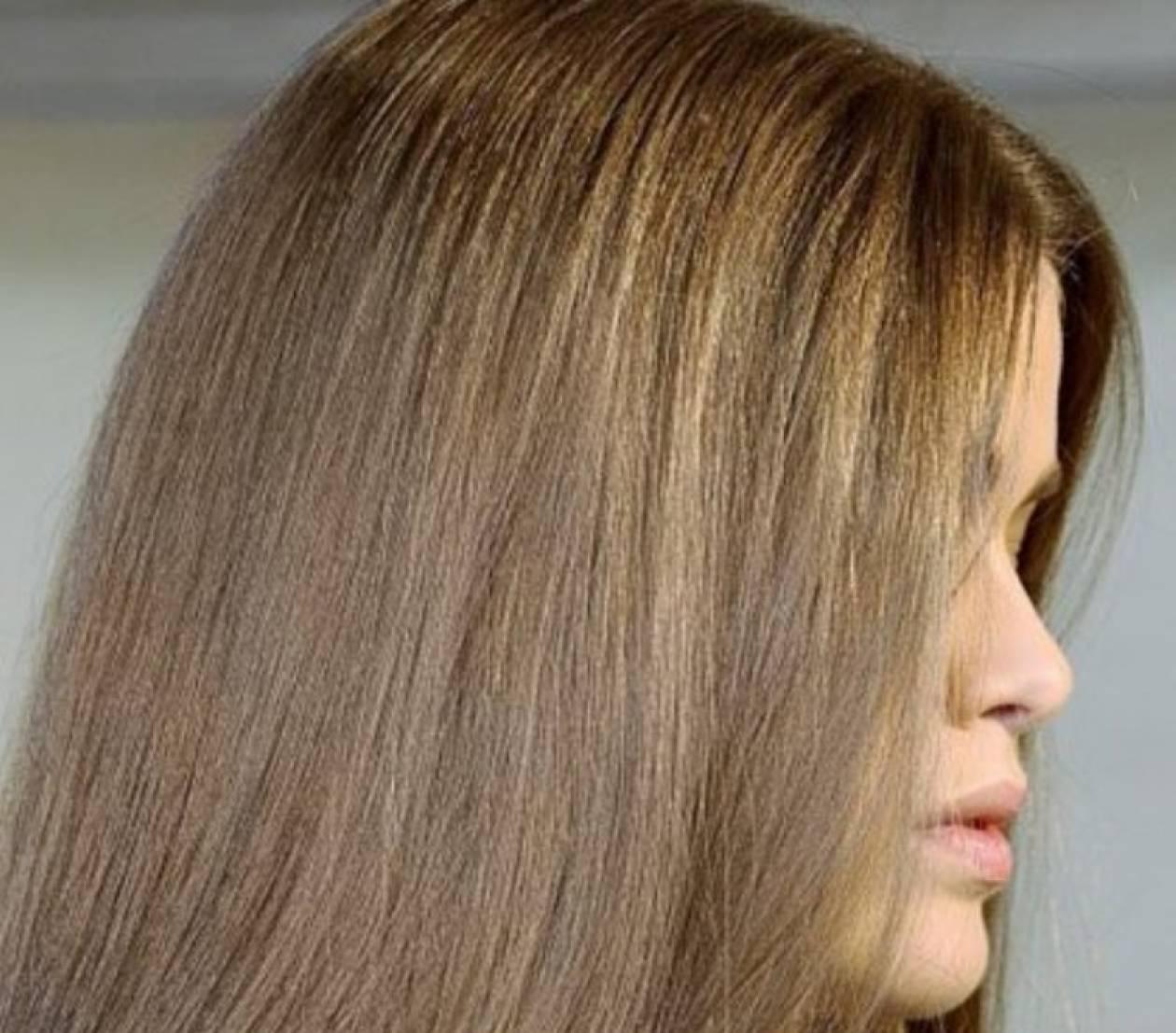 Nude: Τάση και στα μαλλιά