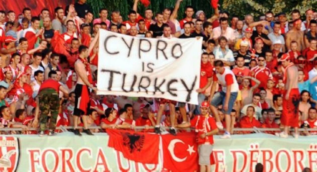 «Τουρκική» Κύπρο βαυκαλίζονται ανεγκέφαλοι Αλβανοί