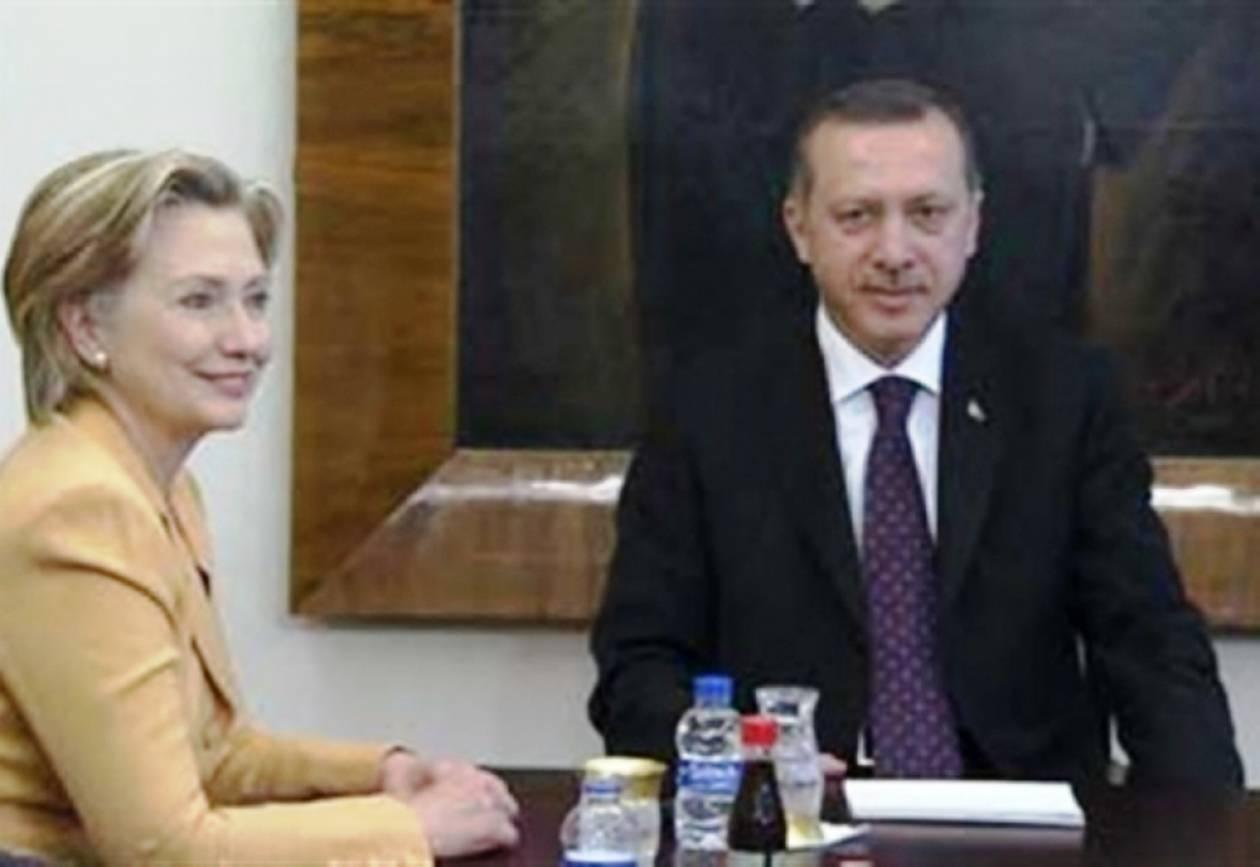 Η Χίλαρι Κλίντον «στρίμωξε» τον Ερντογάν