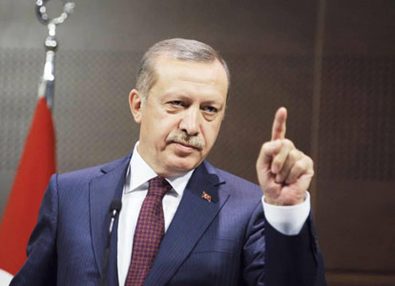 Υποδοχή Ερντογάν με επεισόδια στα κατεχόμενα