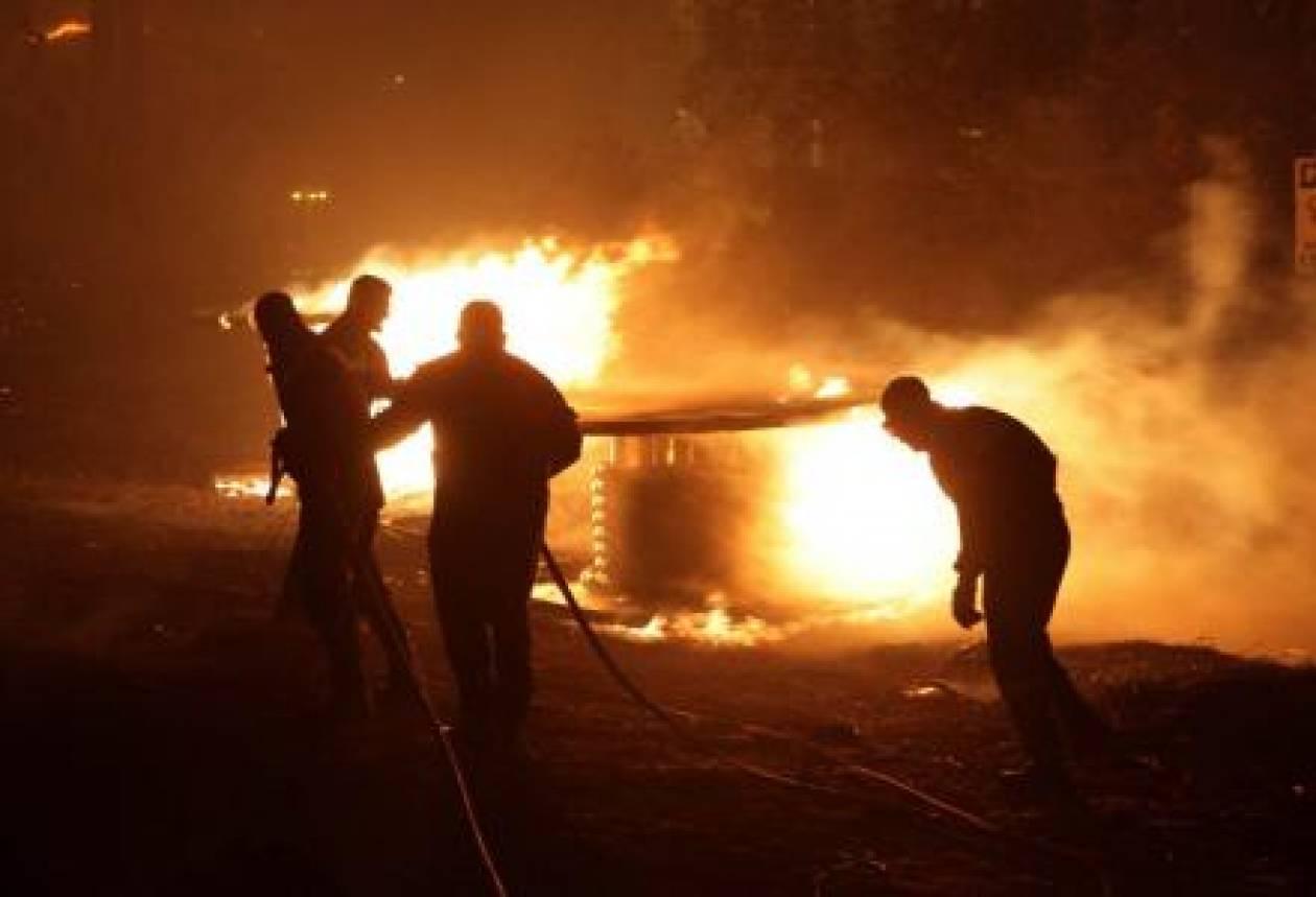 Δεύτερη πυρκαγιά σε εξέλιξη στα Ιωάννινα