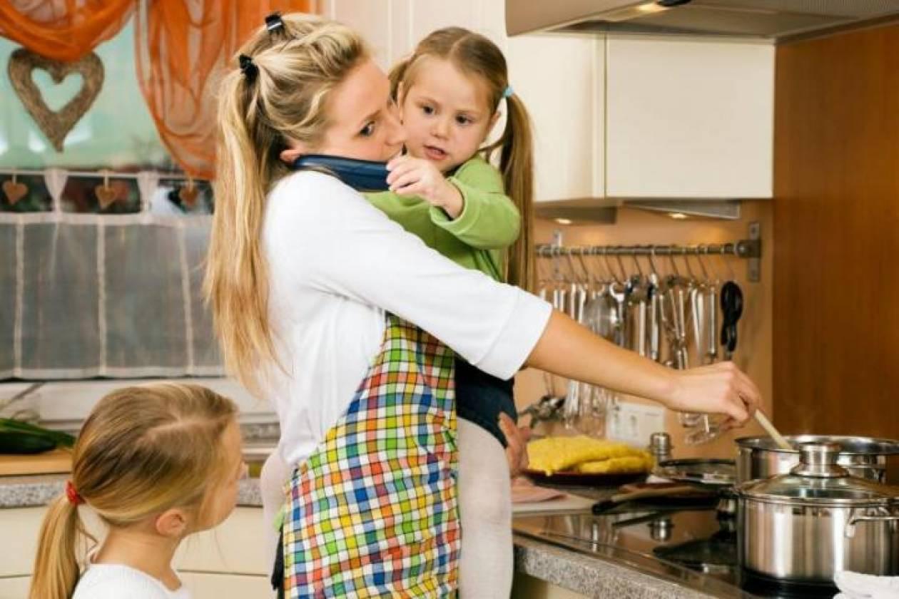 Οι σύγχρονες μητέρες δεν παίρνουν ανάσα