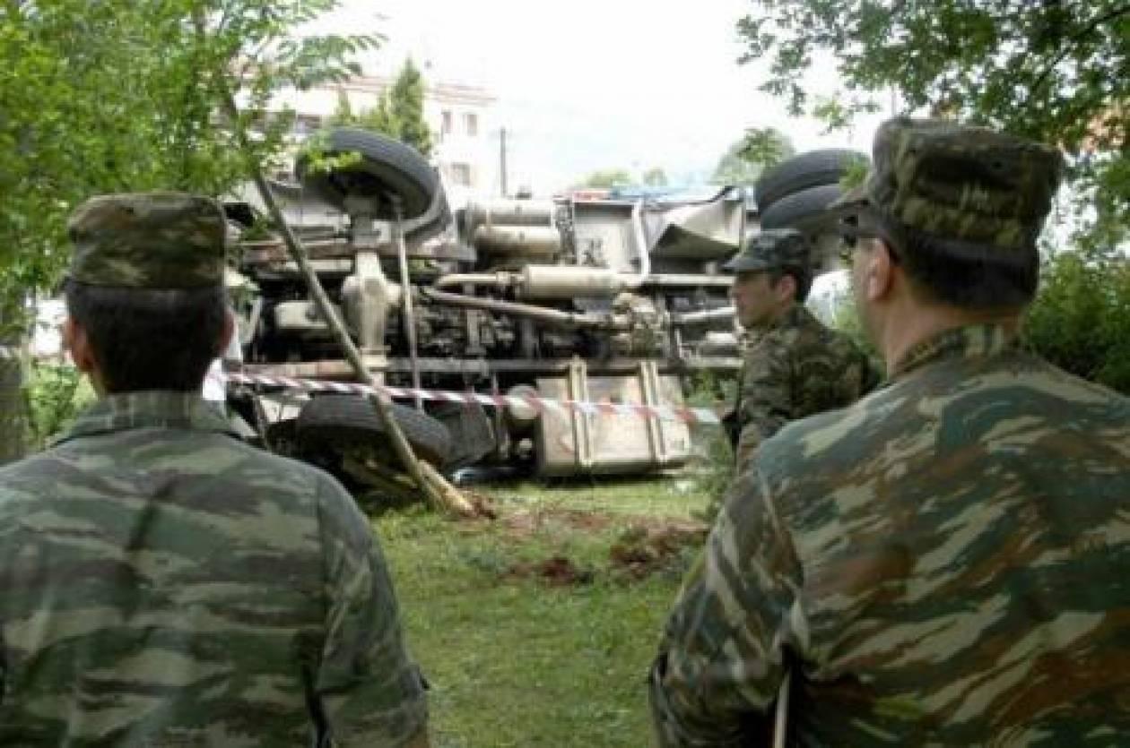 Ανετράπη λεωφορείο με αξιωματικούς στην Αυλώνα