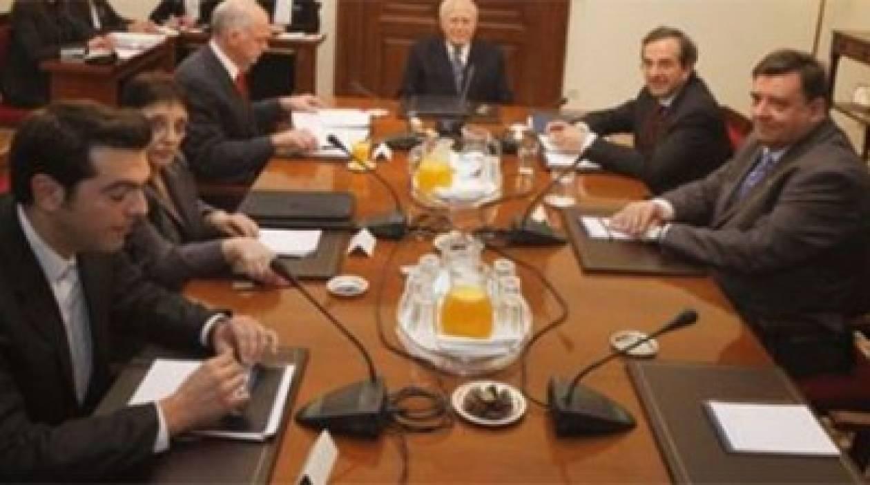 Και νέα συνάντηση με τους πολιτικούς αρχηγούς