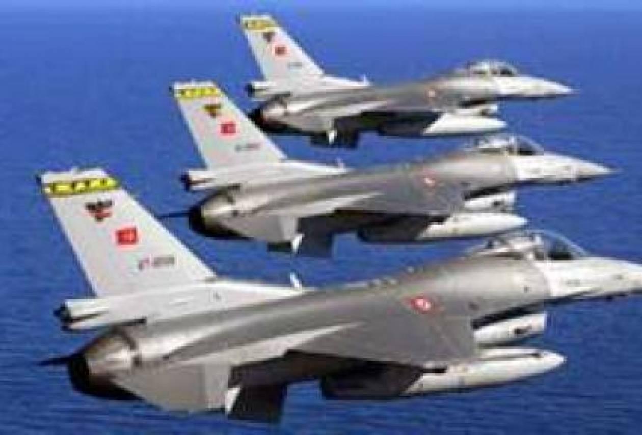 Οπλισμένα τουρκικά αεροσκάφη εισέβαλαν στον εναέριο χώρο μας!