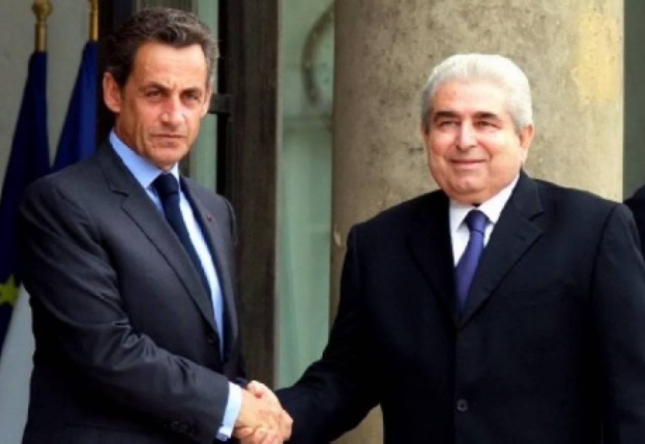 Ο Σαρκοζί στηρίζει την Κύπρο