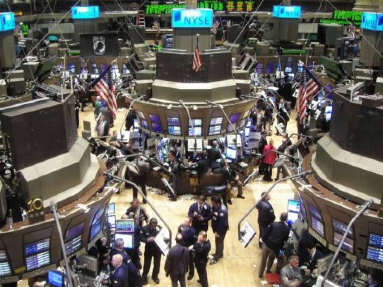 Πτώση στο χρηματιστήριο της Ν. Υόρκης
