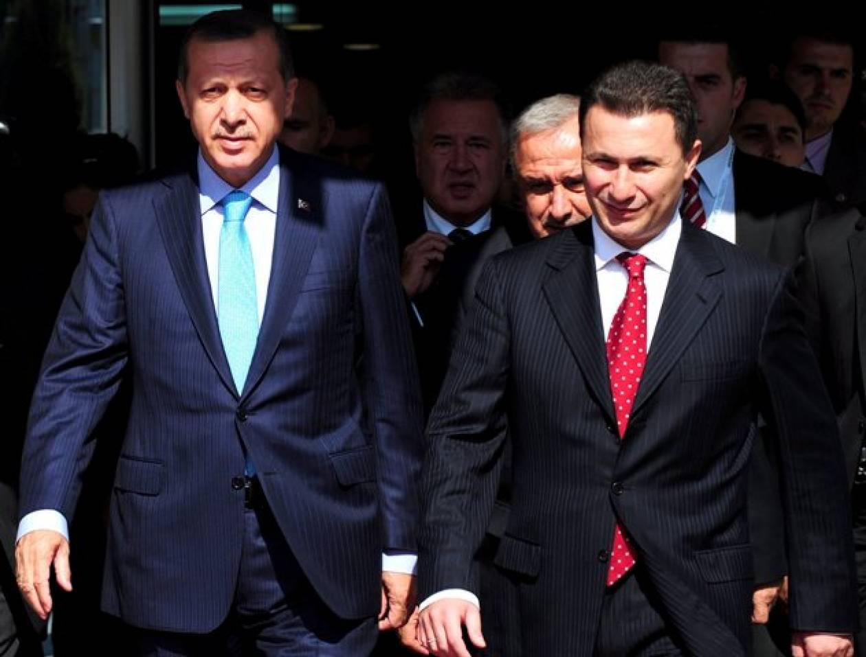 Στήριξη Ερντογάν στην ΠΓΔΜ