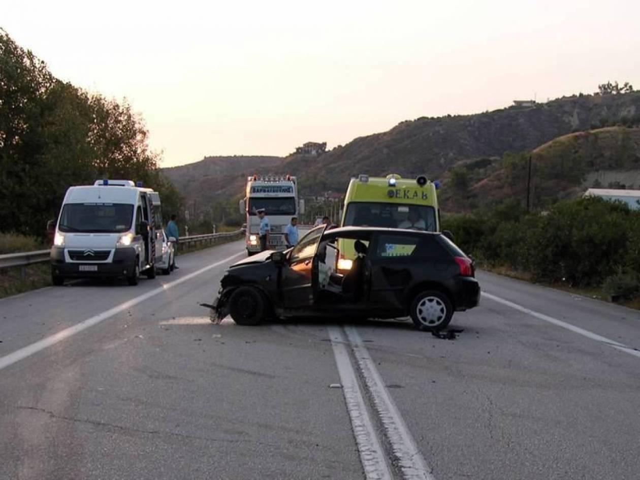 Δυο σοβαρά τραυματίες σε τροχαίο στα Χανιά