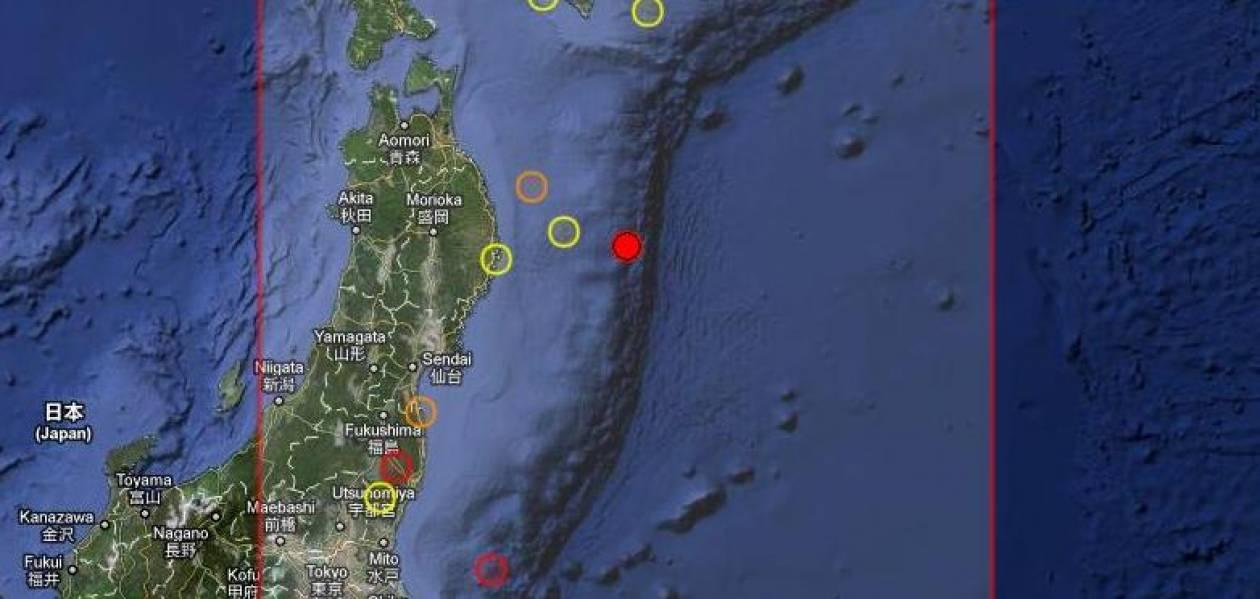 Νέος σεισμός στην Ιαπωνία