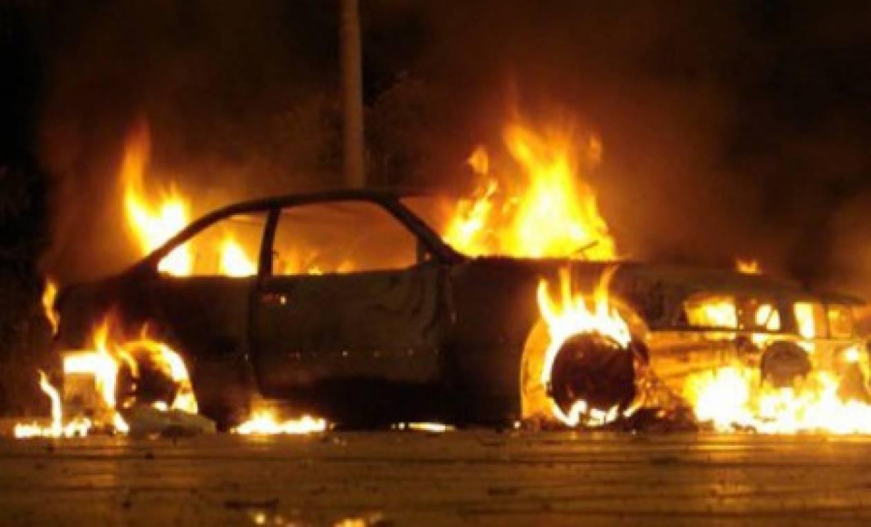 Κάηκαν οχήματα στο Ρέθυμνο